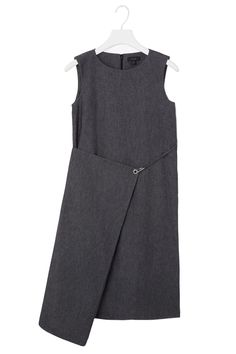 The perfect dress to keep you cool and chic in the office | Cos Fold-Over Denim Dress