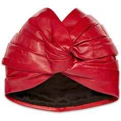 Shop the Gucci Official Website. Browse the latest collections, explore the campaigns and discover our online assortment of clothing and accessories. Turban Hat, Turban Style, Leather Hats, Red Leather, Gucci Hat, Gucci Gucci, Red Hat Society, Bandana Hairstyles, Pink Hat