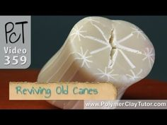 How To Revive Old Polymer Clay Canes http://www.beadsandbeading.com/blog/reviving-old-cracked-polymer-clay-canes/16765/# #polymerclay #canes