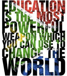 Vandal - Mandela Quote by demoose21  #typography #design #brazil #brasil #cool #selling