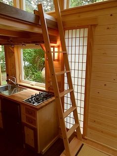 japanese style tiny house by oregon cottage company 7 Your Own Tea Room in a 134 Sq. Ft. Japanese Tiny Home?