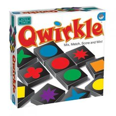 Qwirkle is as simple as matching colors and shapes, but this game also requires tactical maneuvers and well-planned strategy. Earn points by building rows and columns of blocks that share a common sha