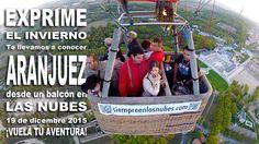 Vuela en globo en Aranjuez