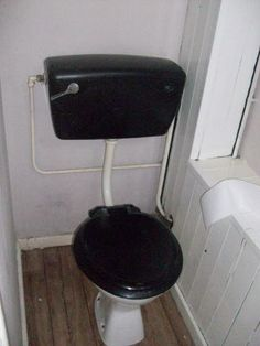 This was our downstairs bathroom - BEFORE