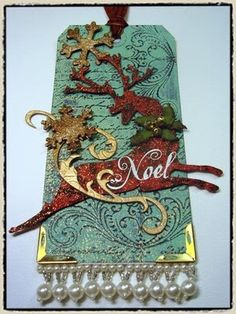 Dees Divine Designs: Tim Holtz Twelve Days of Christmas Tags