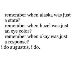 Haven't read looking for Alaska, but I plan to!