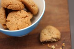 Tahini and Almond Cookies  Makes 35-40 cookies    Recipe by Natalie Levin of Oogio.net