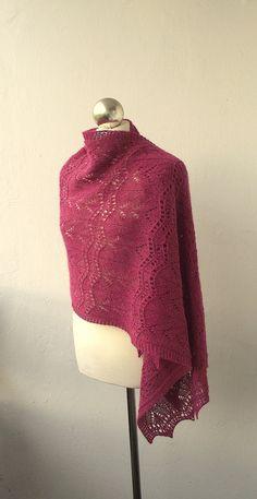 raspberry shawl