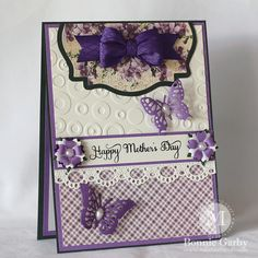 April 2015 G45 Time to Flourish & RRR - Happy Mother's Day Card by Bonnie Garby; Make Time to Craft