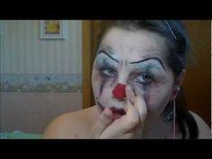 Evil Clown Makeup! | Make Up Videos 4 U