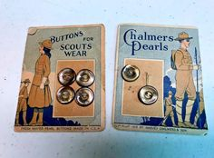 1918 VINTAGE BUTTONS CHALMERS FRESH WATER PEARLS   | eBay