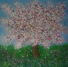 Sweet Spring Blossom by Nicky Chubb Art Exhibiting at Liverpool Contemporary