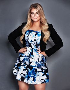 Meghan Trainor: How I Dress for My Curves – Style News - StyleWatch - People. Curvy Celebrities, Beautiful Celebrities, Beautiful People, Celebs, Meghan Trainor, All Fashion, Fashion News, Johny Depp, Youtuber