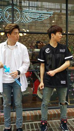 Hojoon and pgoon