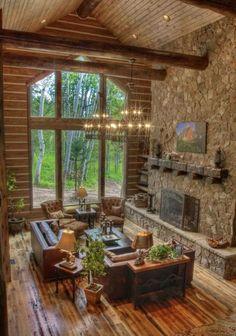 tolle au enbereich gestaltung kamin berdachte terrasse mein traum garten pinterest. Black Bedroom Furniture Sets. Home Design Ideas