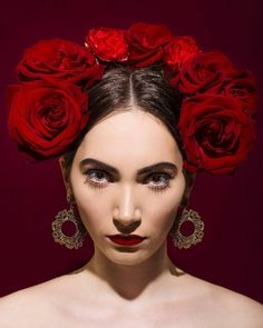 The Soul Inside ____________________________________ #model #portraitphotography #fashionphotography #flowers #headpieces #makeup #roses #redroses #makeupartist #hair… Portrait Photography, Fashion Photography, Headpieces, Red Roses, Halloween Face Makeup, Flowers, Model, Hair, Instagram