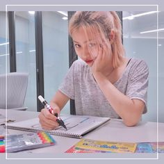 """"""" bae, stop looking at me! """" awwww I can't resist your beauty, Ryujin. Kpop Girl Groups, Korean Girl Groups, Kpop Girls, Kawaii Room, Blackpink And Bts, Soyeon, Guys And Girls, Mini Albums"""