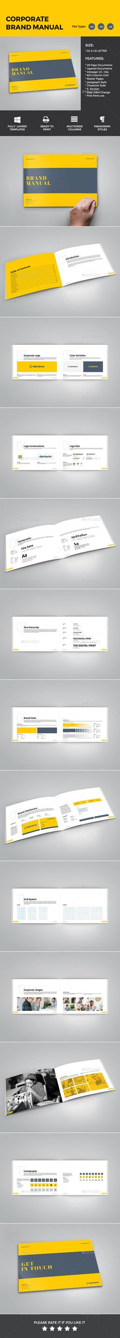 Portfolio Book Template Cleanses, Creative and Template - it manual template