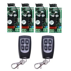 22.67$  Buy here - http://alileb.shopchina.info/go.php?t=32789799053 - AC220V 1CH 10A Wireless Remote Control Relay Switch System 4 Receiver& 2 Transmitter Light Lamp LED SMD ON OFF 315Mhz/433.92Mhz 22.67$ #magazineonlinewebsite