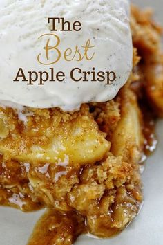 This special Apple Crisp packs MORE flavor and MORE punch than every other recipe! Find out what makes it amazing! Apple Crisp Best Apple Crisp Homemade Apple Crisp Secret Ingredient Apple Crisp How to Make Apple Crisp Easy Apple Crisp applecrisp Desserts Homemade Apple Crisp, Best Apple Crisp Recipe, Apple Crisp Easy, Apple Crisp Recipes, Apple Cobbler Easy, Apple Dessert Recipes, Easy Apple Desserts, Apple Crisp Healthy, Caramel Apple Crisp