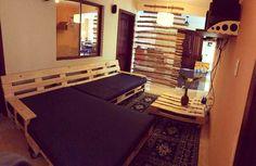 DIY pallet sofa/daybed