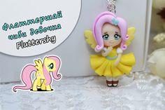 Флаттершай (Fluttershy) Мои маленькие пони  My Little Pony  ПОЛИМЕРНАЯ...