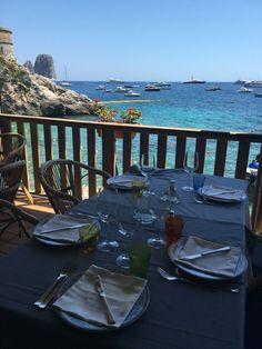 Dica de Restaurante em Capri