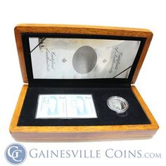 2004 Canada $2 Proof Silver Coin and Stamps Wildlife Set http://www.gainesvillecoins.com/