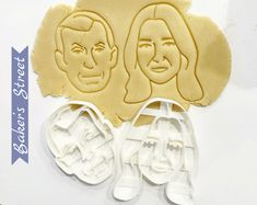 #etsy shop: Custom Portrait Cookie Cutter l Personalized cookie cutter l Custom gift l Face cookie cutter Unique Birthday Gifts, 40th Birthday Parties, Grad Parties, Unique Gifts, Wedding Gift Messages, Personalized Cookies, Birthday Cookies, Gift Certificates, Cookies Et Biscuits
