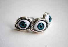 Evil Eye Ring  Adjustable Ring  Spiritual  Evil Eye by BeeesBeads