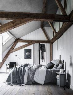 4x GRIJS INTERIEUR • grijze slaapkamer met lakens in verschillende grijstinten | vtwonen 03-2018 | Fotografie Sjoerd Eickmans | Styling Danielle Verheul