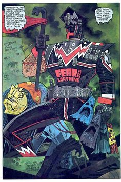 Marshal Law by Kevin O'Neill…the best comic EVER!