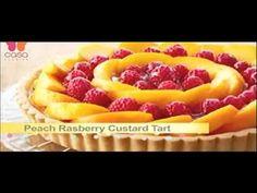 Peach Raspberry Custard Tart - Bake with Anna Olson Tart Recipes, Chef Recipes, Great Recipes, Dessert Recipes, Recipies, Sable Recipe, Yolanda Cakes, Empire Cookie, Tart Dough
