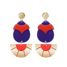 Erstwilder - Secret Scarab earrings