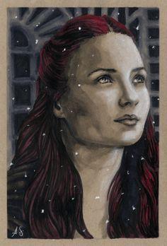 Sansa Stark by Allison Sohn
