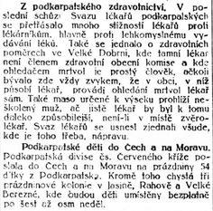 Lidové noviny, 11.7.1924 Hospitals, Math Equations