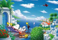 ♥ Snoopy & Friends ♥ Sometimes it's okay to take a break and enjoy life. #WisdomWednesday