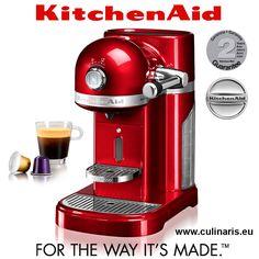 Die Artisan Nespresso-Maschine von KitchenAid ist perfekt für maximalen Kaffee-Genuss geeignet: die portionierten Nespresso Grand Cru Kaffee-Kapseln werden von Kaffee-Liebhabern auf der ganzen Welt geschätzt.