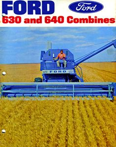 Ford 630 & 640 Combines