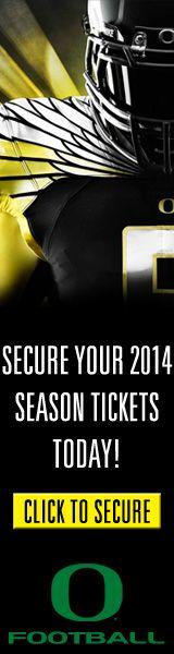 University of Oregon- Football Season (Powered by Paciolan)