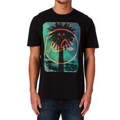 Rip Curl T-shirts - Rip Curl Palmy T-shirt - Black