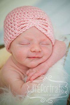 turbante para bebe tejido - Buscar con Google