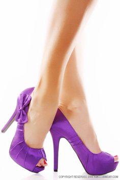 ❀ purple heels ❀