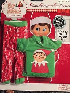 Elf-On-The-Shelf-Clothes-Claus-Couture-Collection-Playful-Pajama-Set-PJs-Outfit
