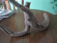 """"""" CHARACTER PLUS !!!!  NATURAL CURVED` 2 pc 20 IN`  DRIFTWOOD` w/A  HOOK` #CurrentUSA"""
