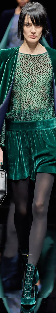 Emporio Armani, Giorgio Armani, Velvet Lounge, Armani Prive, All Fashion, Sequin Skirt, Teal, Couture, Skirts