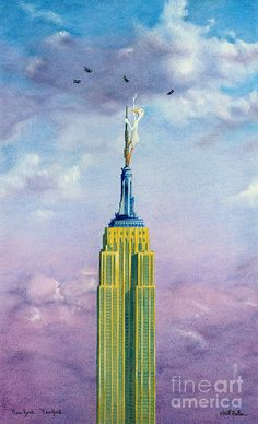 New York ... New York ... Painting by Will Bullas