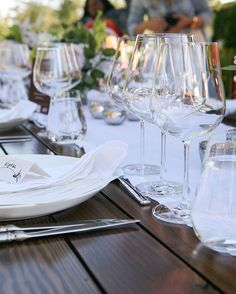from vine to glass with Sur la Table + Fortessa