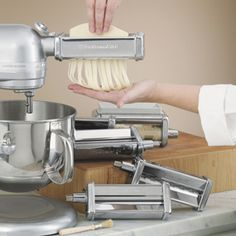 Shop KitchenAid Pasta Excellence Attachment Set KPEX at CHEFS.  This is the bomb!