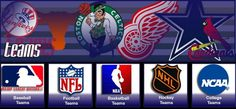 NFL, NHL, NBA and more